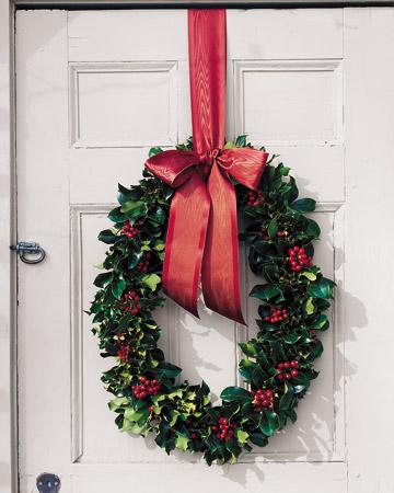 Lavoretti di natale christmas crafts il bruco carolina - Corone natalizie da appendere alla porta ...